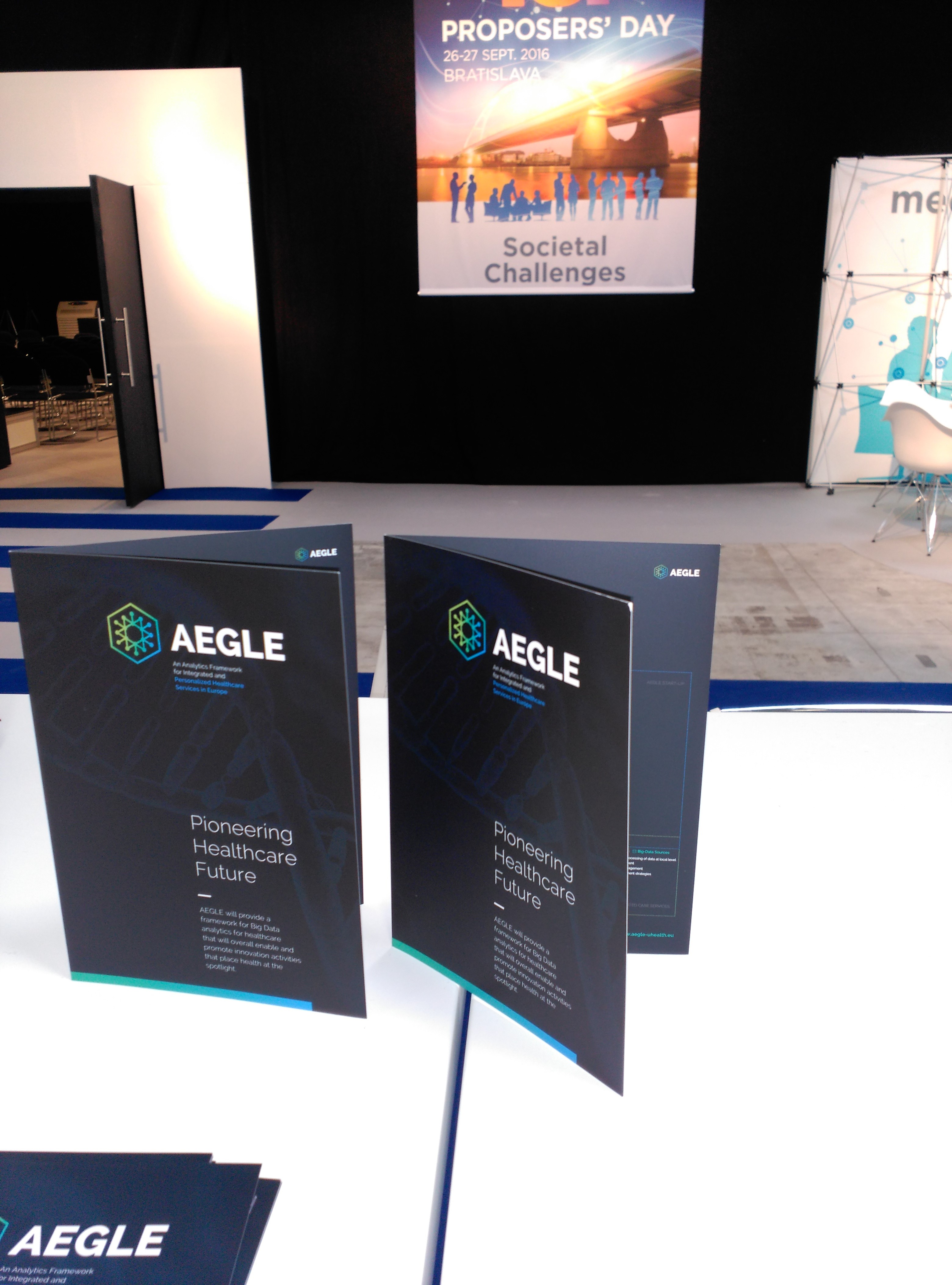AEGLE at ICT Proposers' Day - Bratislava