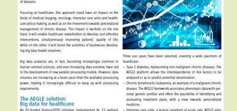 AEGLE's article in the Newsletter HiPEACinfo50